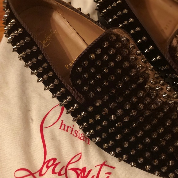 b16945fe6e99 Christian Louboutin Other - Christian Louboutin men s spiked loafers size  43.